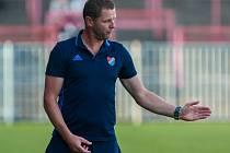 DOMÁCÍ PREMIÉRA. Trenér Baníku Radim Kučera bere zápas se Slavií jako velké lákadlo.
