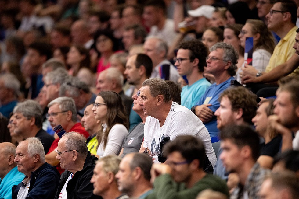 V posledním zápase základní skupiny B na mistrovství Evropy v Ostravě se čeští volejbalisté utkali s Itálií.