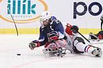 Mistrovství světa v para hokeji 2019, 3. května 2019 v Ostravě. Na snímku Pauls Josh (USA).