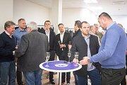 Slavnostní setkání hráčů Vítkovic, 21. prosince 2018 v Ostravě.