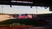 Slezské derby FC Baník Ostrava vs. Slezský FC Opava, 21. dubna 2019