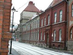 Budova zdravotní školy v Ostravě na ul. Jeremenkova 2