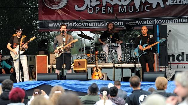 Štěrkovna Open Music. Archivní snímek