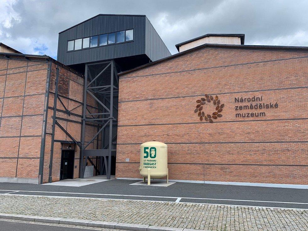 Národní zemědělské muzeum v Ostravě, září 2020, několik dní před slavnostním otevřením.