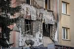 Hasiči a policisté zasahovali u požáru domu v Ostravě-Hrabůvce.