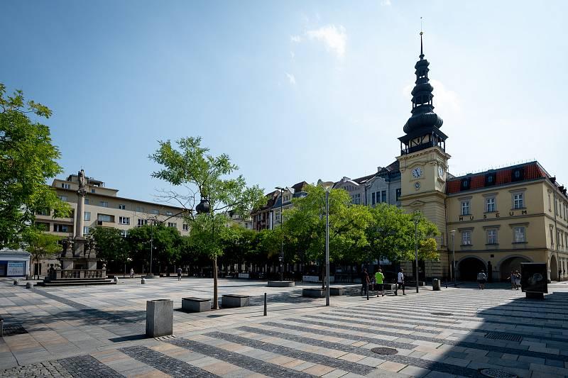 Masarykovo náměstí v Ostravě.