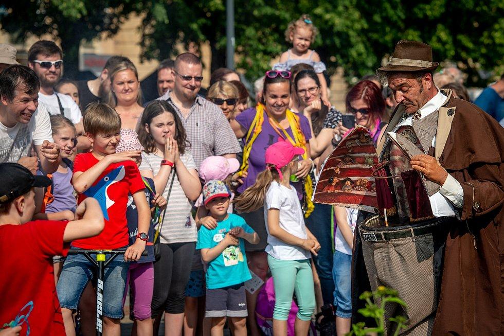 Festival Cirkulum 2019 v Ostravě.