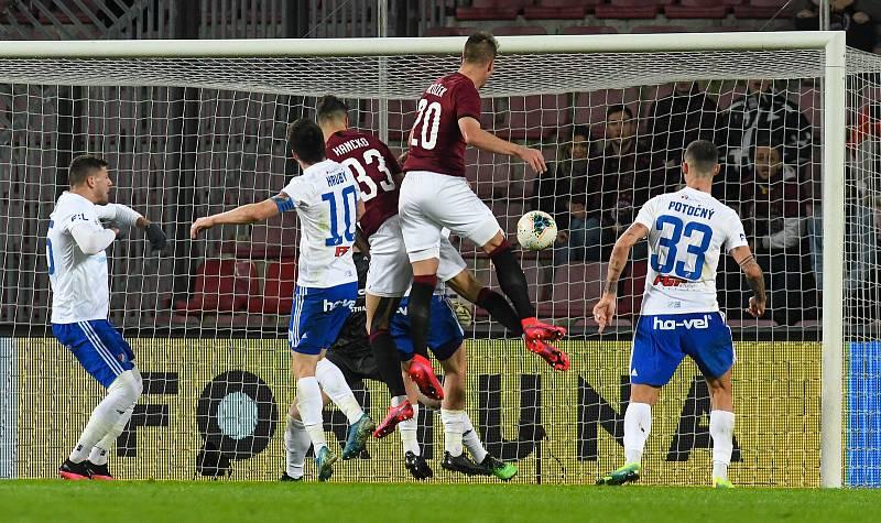 Čtvrtfinále MOL Cup AC Sparta Praha - FC Baník Ostrava, Generali Česká pojišťovna Aréna, Praha, 4. března 2020.