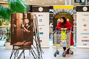 Výstava fotografií Czech Industry Photo v OC Futurum, 21. ledna 2020 v Ostravě.