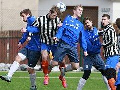Zimní fotbalový turnaj ve Vratimově. Ilustrační foto.