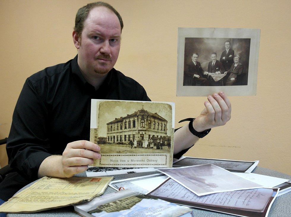 Historik Kamil Rodan si dal tu práci, aby zmapoval všechny hostince v ostravské Nové Vsi, výsledkem byla knížka a zájem patriotů z jiných obvodů o další pokračování.