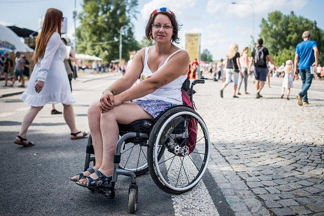 Ida Juřicová nedá na Colours dopustit.