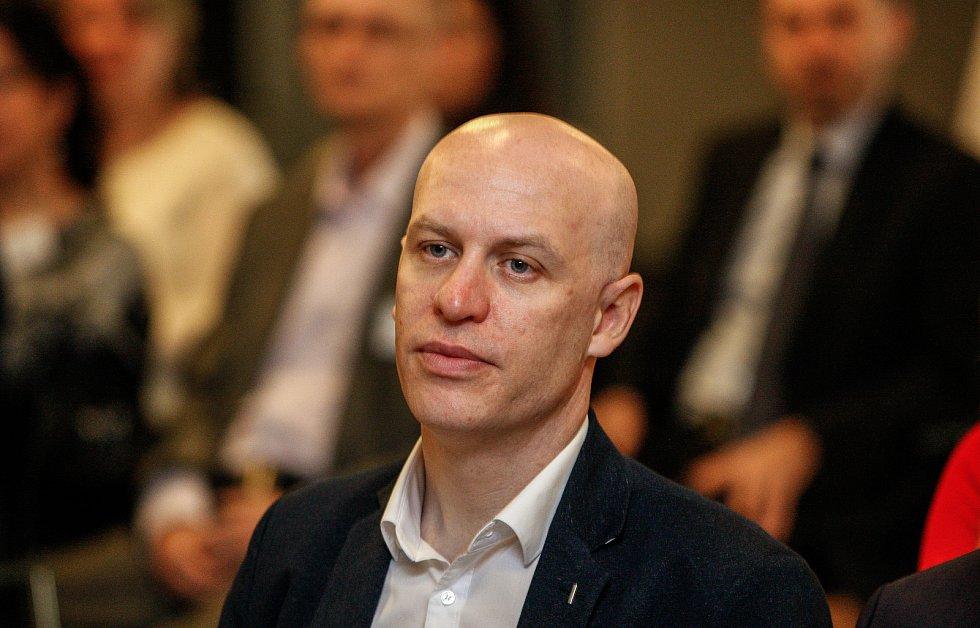 Setkání s hejtmanem Ivo Vondrákem v Ostravě, v multifunkční hale Gong, na snímku Petr Lukasík