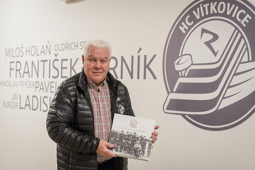František Černíkv při rozhovoru pro Deník, prosinec 2018.