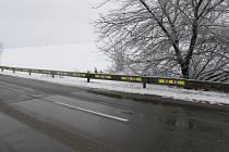 Svítící lišty nejen upozorní řidiče na nebezpečný úsek silnice, ale dokáží i nahlásit, že je v místě nehoda.