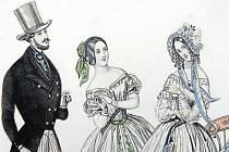 V polovině 19. století kopírovala plesová móda v Morav-ské Ostravě Vídeň, která se ale inspirovala Paříží. Česká Praha té dobydoporučovala české kroje, ale s nevelkým úspěchem.