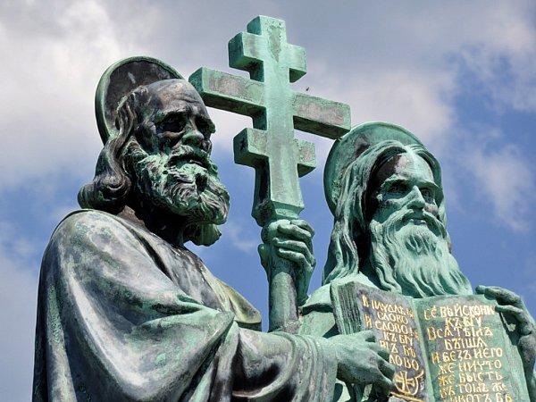 Cyril a Metoděj. Ilustrační foto.
