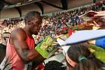 Zlatá tretra Ostrava 2016. Usain Bolt.