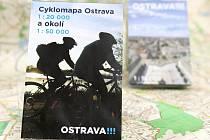 Ostrava má od ledna novou mapu města a cyklomapu města a okolí.