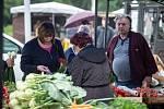 Farmářské trhy u OC Futurum, 20. června 2020 v Ostravě.