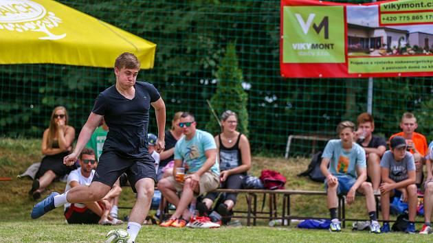 Soutěž o penaltového krále Moravskoslezského kraje, 5. červenec 2019 Hukvaldy.