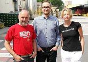 RODINA v Ostravaru, Martina Růžičková je laborantkou, její syn Vojtěch Slivoň obchodním sládkem a manžel Vladimír Růžička sklepmistrem.