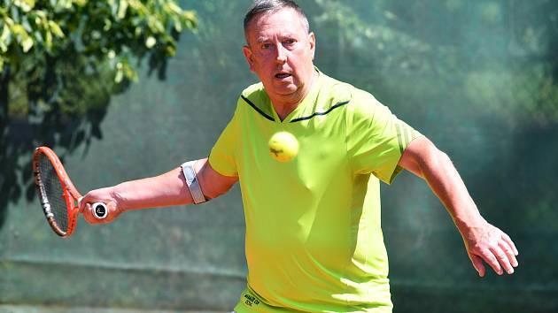 Turnaj vyhrála opět favorizovaná dvojice Franek-Stříbný, která ve finále zdolala pár Hüner-Ostrý 6:2. Foto: Aleš Krecl
