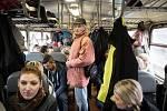 Mimořádný vlak se vydal v sobotu na cestu po šachtách Ostravsko-karvinského revíru.