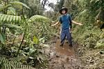 Ostravský dobrodruh uprostřed džungle.