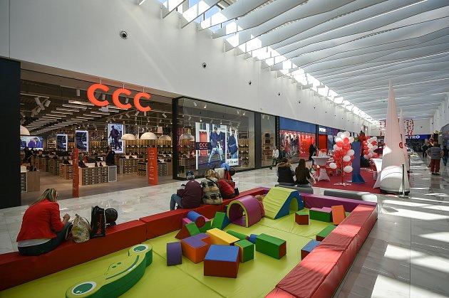 Nové nákupní centrum Géčko uGlobusu vOstravě.
