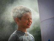 Letní osvěžení - mlžná sprcha.