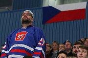 Mistrovství světa v para hokeji 2019, Korea - Česká republika (zápas o 3. místo), 4. května 2019 v Ostravě. Na snímku fanoušci.