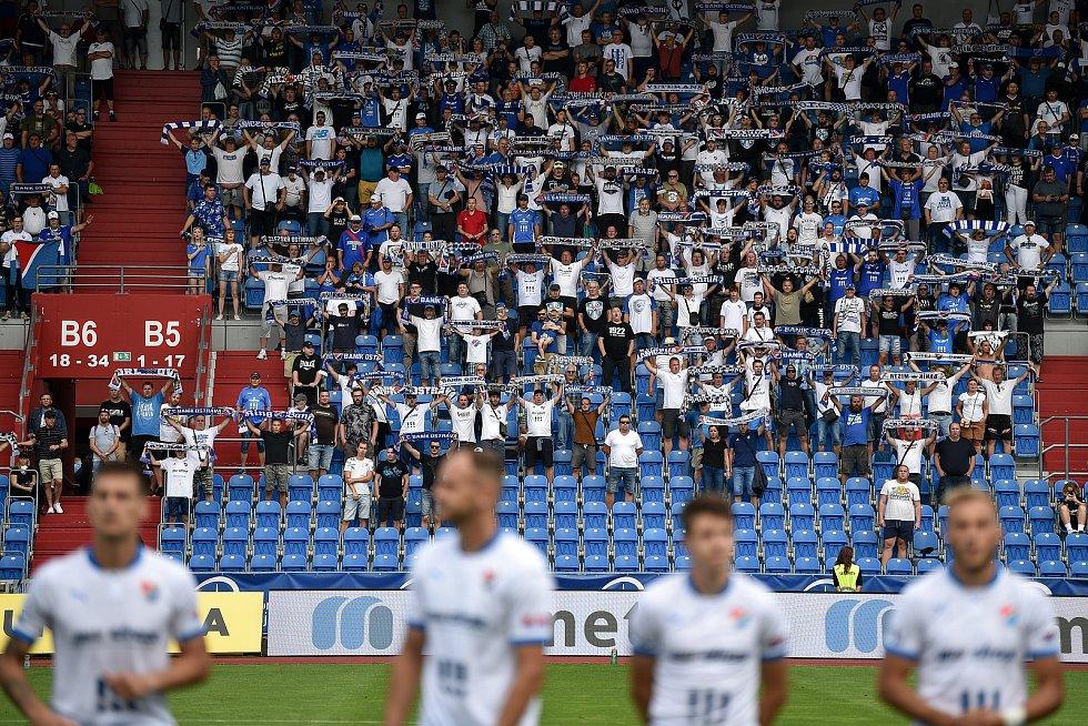 Utkání 2. kola první fotbalové ligy: Baník Ostrava - Fastav Zlín, 1. srpna 2021 v Ostravě.