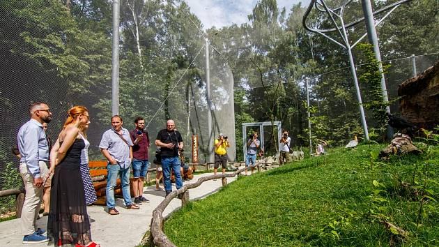 Zoo Ostrava zve do své největší průchozí voliéry. Navštivte obyvatele La Pampy.