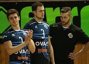 Extraliga volejbalistů - 17. kolo:  VK Ostrava - Benátky nad Jizerou 3:1 (15, 20, -25, 21)
