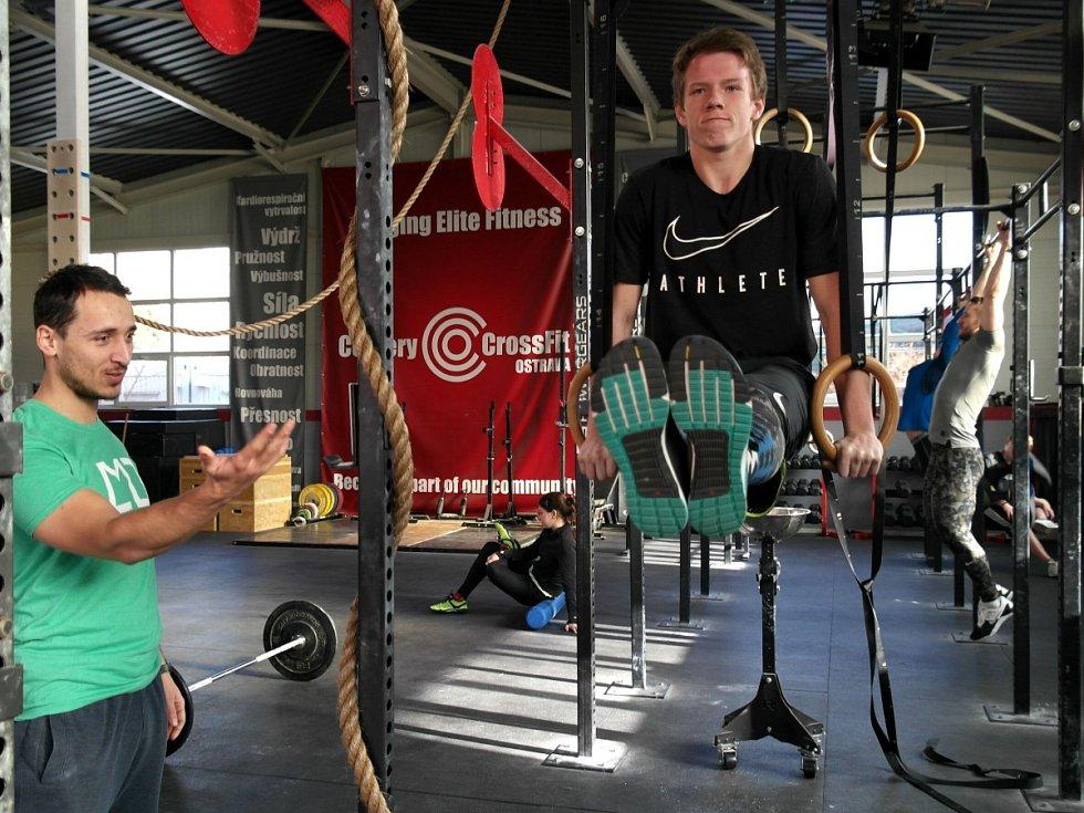 HONZA. Sedmnáctiletý gymnazista má našlápnuto, aby se stal prvním Čechem, jenž se probojuje na CrossFit Games do USA.