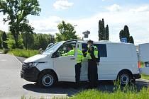 Městská policie Ostrava jezdí v novém monitorovacím vozidle. Slavnostní předání vozidla, Ostrava, květen 2021.