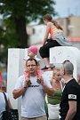 Festival v ulicich, který se konal 1. července 2017 v Ostravě.
