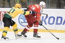 Hokejisté Poruby nestačili před čtyřmi tisíci diváky na Vsetín a podlehli mu 2:4.