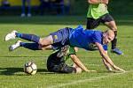 Ilustrační foto ze zápasu Žimrovice - Krásné Loučky.