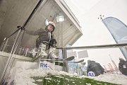 Olympijský festival v Ostravě, 12. února 2018. Disciplína skoky na lyžích.