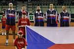 Davis Cup 2018 v Ostravě - Česko vs. Izrael. Zahájení