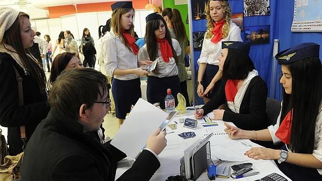 Veletrh fiktivních firem v Ostravě