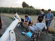 Jedno z pozorovacích stanovišť vzniklo u Darkoviček poblíž Hlučína, kde se amatérští astronomové pravidelně scházejí.