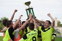 Fotbalová Vřesina slaví! Čtvrtý celek I. B třídy porazil ve středečním finále Teskahor krajského poháru Bohumín 3:1