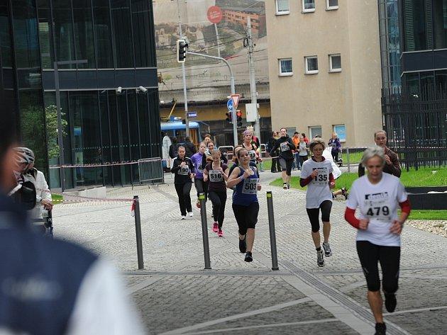 Český běh žen v Ostravě