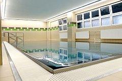 Zrekonstruovaný bazén v Městské nemocnici Ostrava.