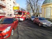 Zkouška průjezdnosti ulic ve Frýdku-Místku.