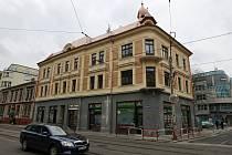 Dům na Nádražní ulici.