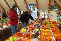 Tradiční výstava ovoce, zeleniny a okrasných užitkových rostlin ve Fryčovicích.